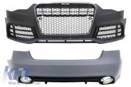 Body Kit suitable for AUDI A5 8T Facelift (2013-2016) RS Sportback Design - COCBAUA58TFRSF