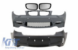 Body Kit suitable for BMW 1 Series E81 E82 E87 E88 (2004-2011) 1M Design With Air Duct Vent and PDC - COFBBME87M1WOGRB
