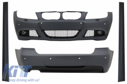 Body Kit suitable for BMW 3 Series E90 LCI Limousine (2008-2011) M-Technik Design - CBBME90LCIMT