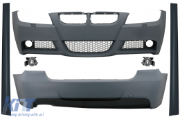 Body Kit suitable for BMW 3 Series E90 (2005-2008) M-Technik Design with Side Skirts - CBBME90MT