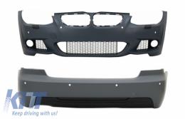 Body Kit suitable for BMW 3 Series E92 Coupe E93 Cabrio LCI (2010-2014) M-Technik Look - COCBBME92LCIMT