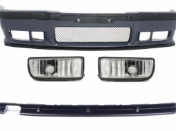 Body Kit suitable for BMW 3er E36 (1992-1997) M3 Design With Chrome Fog Lights - COFBBME36M3RD