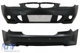 Body Kit suitable for BMW 5 Series E60 2003-2007 M-Technik Design without Fog Lights - CORBBME60MTPDC24WF