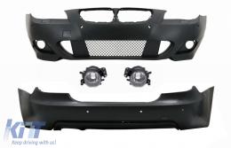 Body Kit suitable for BMW 5 Series E60 Sedan Non-LCI (2003-2007) M-Technik Design with PDC 24mm - COCBBME60MTPDC24RB