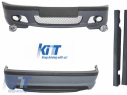 Body Kit suitable for BMW E46 98-05 3 Series M-Technik Design - COCBBME46MT