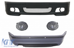 Body Kit suitable for BMW E46 Sedan (1998-2004) Bumper With PDC + Fog Lights M-Technik Design - COFBBME46MT4DPDC03