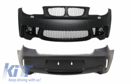 Body Kit suitable for BMW Series 1 E81/E87 (2004-2011) M1 Design with SRA - COFBBME87M1WOP