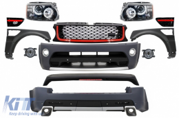 Body Kit suitable for Land Range Rover Sport L320 Facelift (2009-2013) Autobiography Design - COCBRRSFLFHR