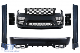 Body Kit suitable for Land Range Rover Vogue IV L405 SWB (2018-Up) SVO Look - CBRRVL405SVO