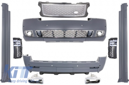 Body Kit suitable for Land Range Rover Vogue L322 (2002-2012) Autobiography Design - CBRRVL322GS