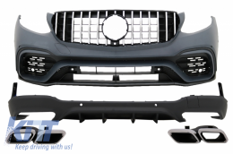 Body Kit suitable for MERCEDES Benz GLC X253 SUV (2015-Up) GLC63 AMG Design - CBMBGLCX253AMG