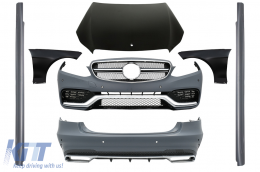 Body Kit suitable for MERCEDES Benz W212 E-Class Facelift (2013-up) E63 AMG Design - CBMBW212FAMGC