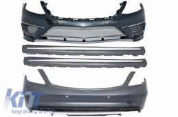 Body Kit suitable for MERCEDES Benz W222 S-Class (2013-up) S65 AMG Design - CBMBW222AMGS65