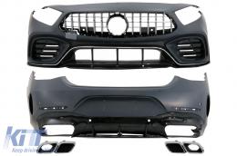Body Kit suitable for Mercedes CLS-Class C257 Sedan (2018-Up) - CBMBC257AMG