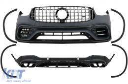 Body Kit suitable for Mercedes GLC SUV Facelift X253 (2020-Up) GLC63 Design - CBMBGLCX253FAMG