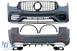 Body Kit suitable for Mercedes GLC SUV Facelift X253 Facelift (2020-Up) GLC63 Design - CBMBGLCX253FAMGBT