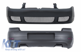 Body Kit suitable for VW Golf IV 4 MK4 (1997-2004) R Look without PDC Holes - COFBVWG4RSARB