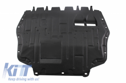 Bottom engine cover fits to: Audi A3 II 8P 2009 - 2013; Volkswagen GOLF VI 2008 - 2013, TOURAN I 2010 - 2015 - 150421