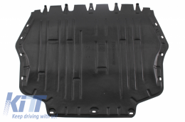 Bottom engine cover Suitable for Audi A3 II 8P, S3 8P 2003 - 2013; Seat ALTEA 2004 - 2015, LEON II 2005 - 2013, TOLEDO III 2004 - 2009; Skoda OCTAVIA II 2004 - 2013, SUPERB II 2008 - 2013, YETI 2010 - - 150408