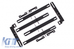 Brackets Running Boards Side Steps suitable for MITSUBISHI Outlander III 2012-/suitable for MITSUBISHI ASX 2010- - BRBMIOU3