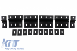 Brackets Running Boards Side Steps suitable for HYUNDAI Santa Fe MkIII (DM) (2013-up) - BRBHYSFE2