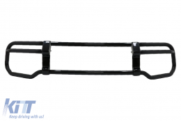BullBar Guard suitable for Mercedes G-Class Facelift W463 / W464 G63 (2018-) Stainless Steel Piano Black - BBMBW464B