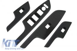 Carbon fiber Style Door Cover Armrest Trim suitable for HONDA CRV (2012-2016) IV Generation OEM Design - DCHOCRV12C