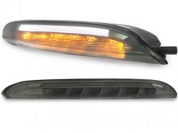 carDNA LED front indicator with position light suitable for VW Passat CC - KGV10S