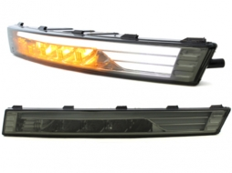 carDNA LED front indicator with position light suitable for VW Passat 3C - KGV11S