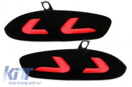 carDNA taillights Seat Leon LIGHTBAR 09+ 1P1 Black / Smoke - RSI08LLBS