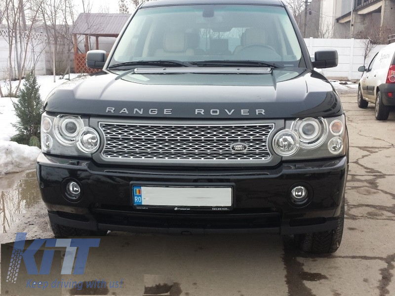 central grille land rover range rover vogue iii l322