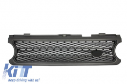 Central Grille Land Rover Range Rover Vogue III (L322) (2006-2009) Silver Autobiography Supercharged Edition