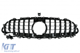 Central Grille suitable for Mercedes CLS-Class C257 (2018-up) Panamericana GTR Design All Black - FGMBC257GTRBGCP
