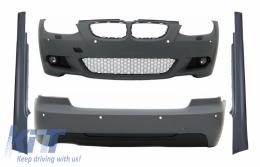 Complet Body Kit suitable for BMW 3 Series E92 E93 (2006-2009) Non-LCI Coupe Cabrio M Design Single Outlet for Twin Exhaust - COCBBME92MTPDCSSTP