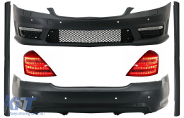 Complete AMG Body Kit suitable for MERCEDES-Benz S-Class W221 (2005-2012) LWB - COCBMBW221AMGT