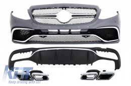 Complete AMG Body Kit suitable for MERCEDES-Benz E-Class W213 2016 + - CBMBW213AMGC