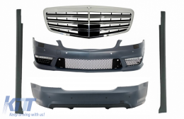 Complete AMG Body Kit suitable for MERCEDES-Benz S-Class W221 (2005-2011) SWB S63 S65 Design - COCBMBW221AMGSFG
