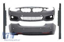 Complete Body Kit BMW 4 Series F32/F33 (2013-up) Sport Design Coupe Cabrio - CBBMF32MTDSO