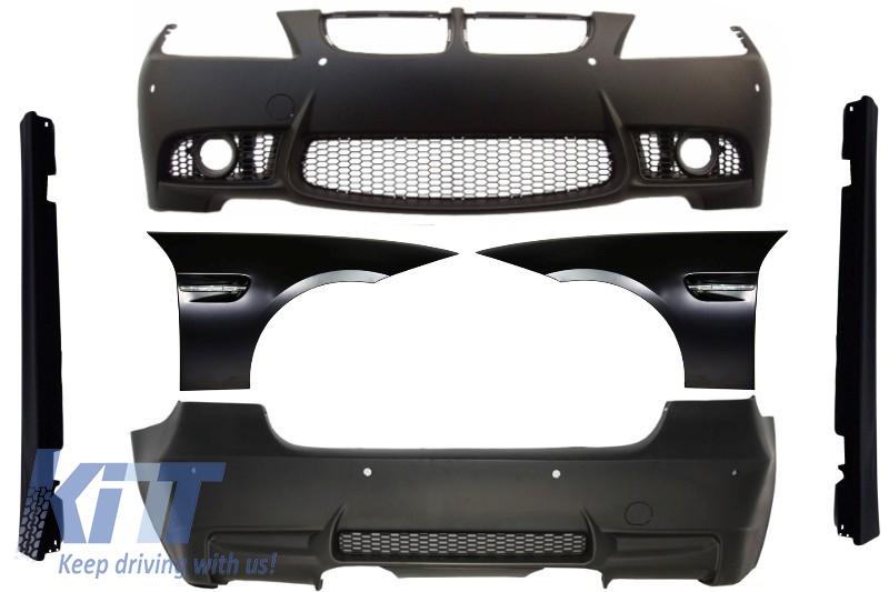 Complete Body Kit Bmw E90 Pre Lci Seria 3 M3 Design 2004 2008