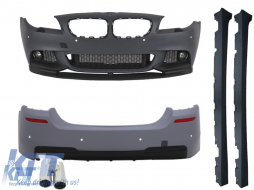 Complete Body Kit BMW F10 5 Series (2011-2014) M-Performance Look+Exhaust Muffler Tips  ACS Design Left