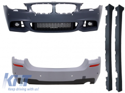 Complete Body Kit BMW F10 5 Series (2014-up) Facelift LCI M-Technik Design - CBBMF10MTLCIDSO