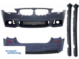 Complete Body Kit BMW F10 5 Series (2014-up) Facelift LCI M-Technik Design - COCBBMF10MTLCIWF