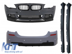 Complete Body Kit BMW F10 F11 5 Series LCI (2011-up) M-Performance Design - COCBBMF10MPTH