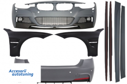 Complete Body Kit BMW F30 (2011+) M-Performance Design with Front Fenders - COCBBMF30MPSOFF