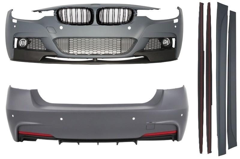 kit carrosserie bmw f30 11 m performance look pare chocs pdc calandre ebay. Black Bedroom Furniture Sets. Home Design Ideas