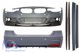 Complete Body Kit BMW F30 (2011-up) M-Performance Design Single Exhaust Outlet - CBBMF30MPTHSO
