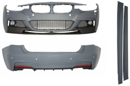Complete Body Kit BMW F30 (2011-up) M-Performance Design With Double Outlet Diffuser - CBBMF30MPDO