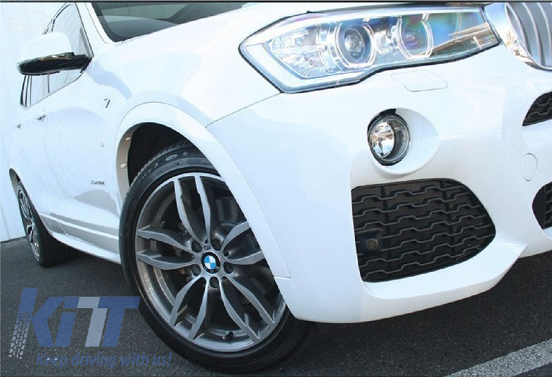 Complete Body Kit Bmw X3 F25 2014 Up M Design