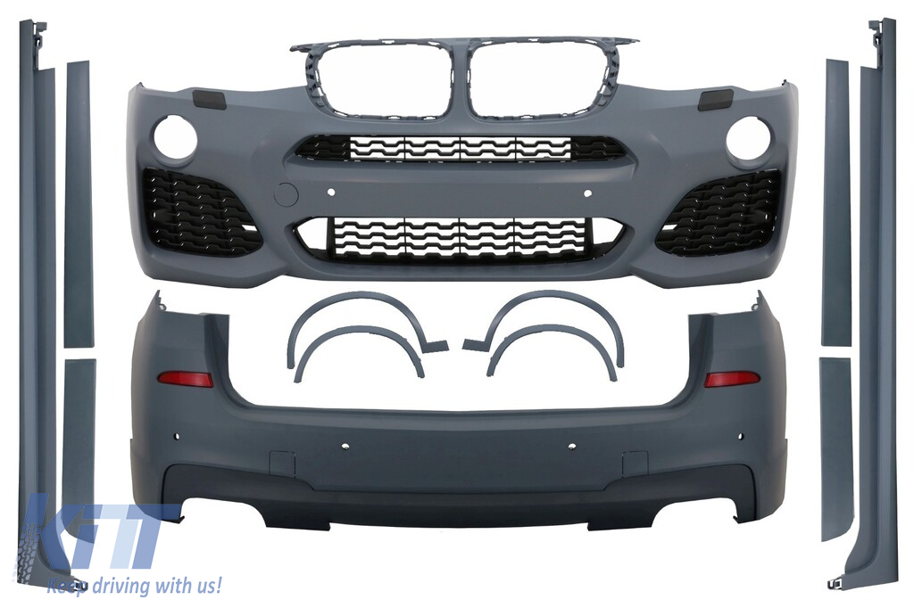 Complete Body Kit Bmw X3 F25 2014 Up M Design