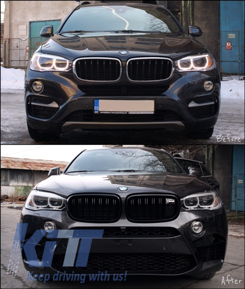 Bmw X6 Price 2015: Complete Body Kit BMW X6 (F16) (2015-up) X6M Design M-Package